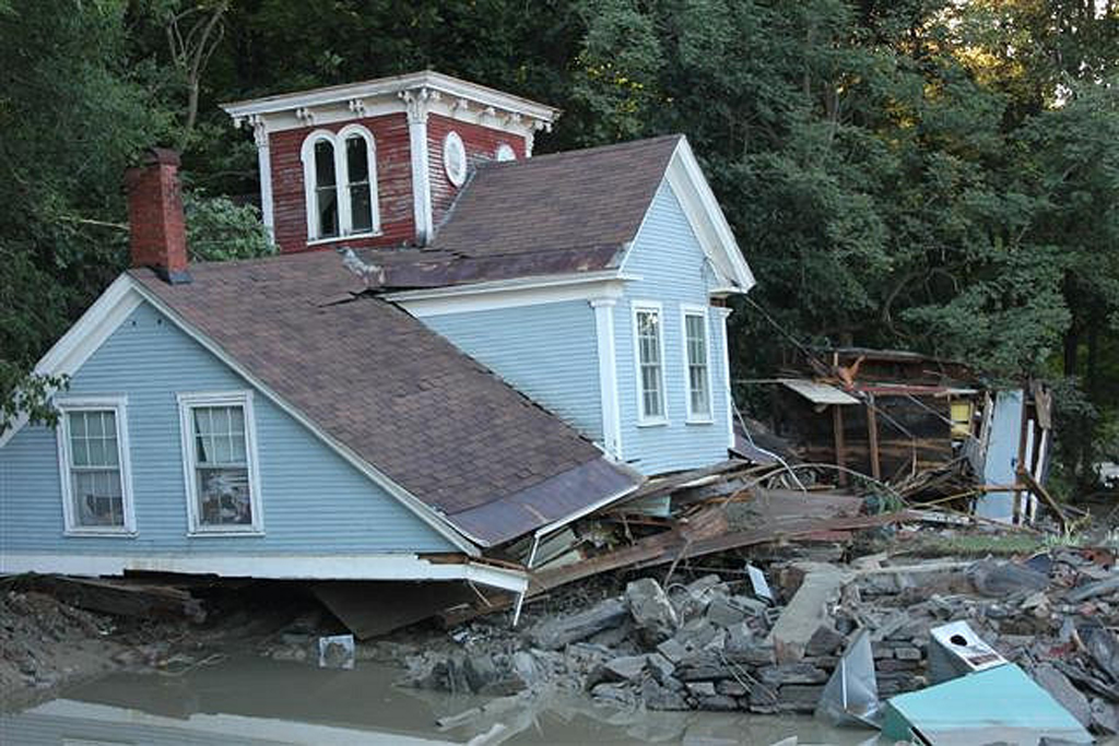 Destructive Forces of Nature | hurricane damage (Photo Credit: U.S. Fish and Wildlife Service)