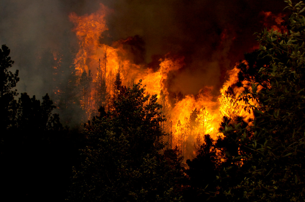 Destructive Forces of Nature | fire (Photo Credit: Sgt. Jesica Geffre, U.S. Army)